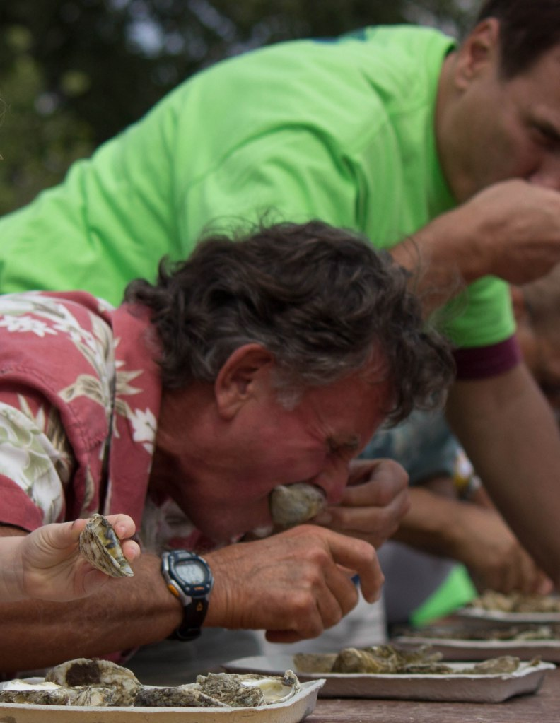 Oyster Eating Competition in Milford